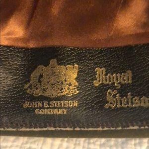Stetson Accessories - Men's vintage Stetson Fedora in original box